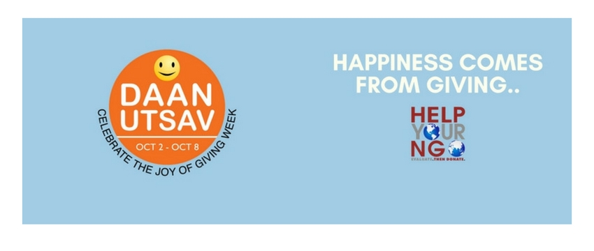 HelpYourNGO: Donate Now Online. Daan Utsav